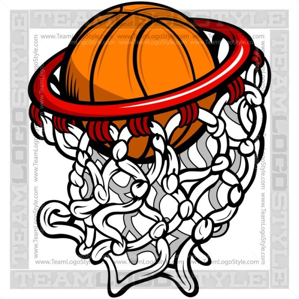Basketball Hoop Logo.