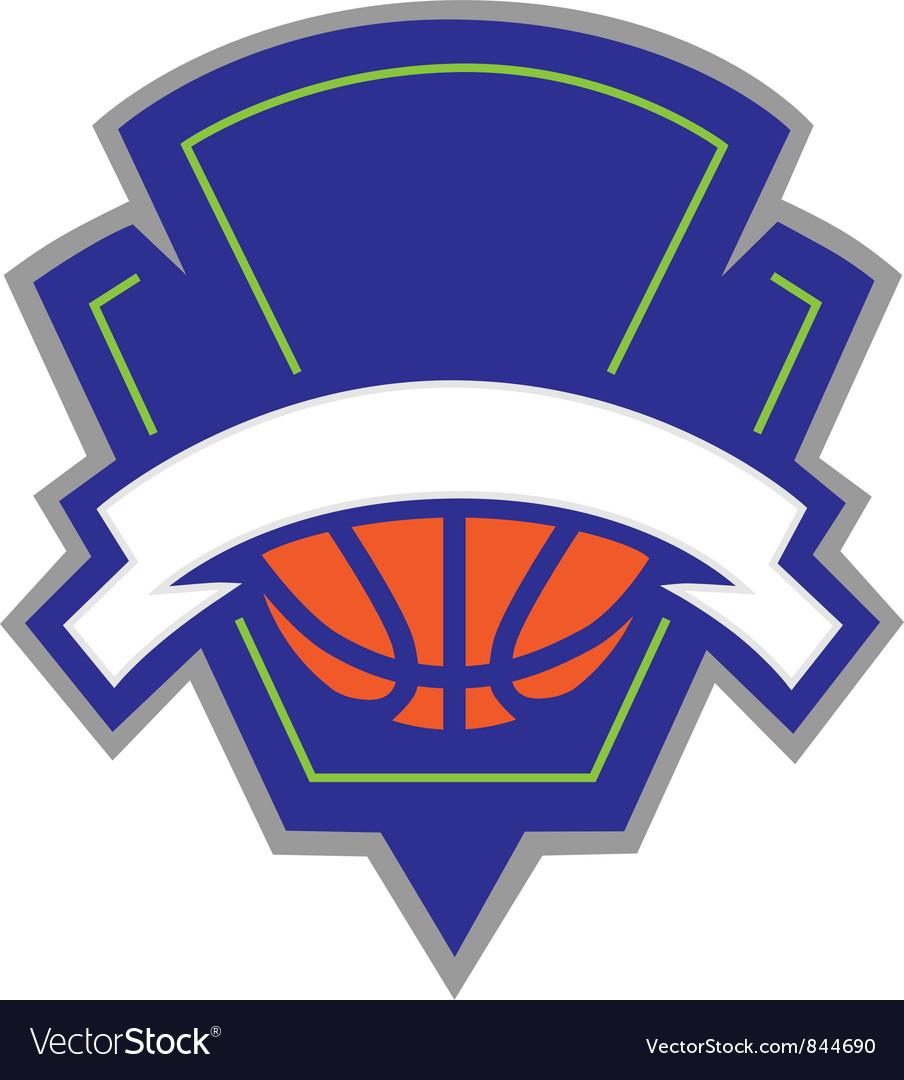 Basketball logo.
