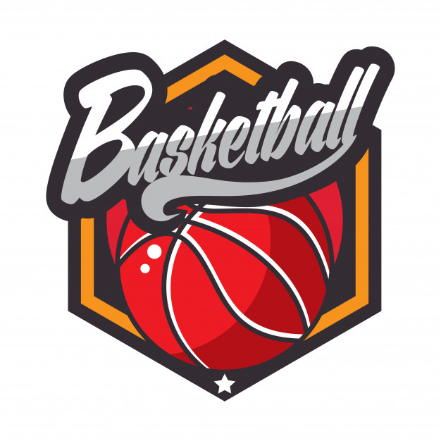 Basketball logo american logo Vector.