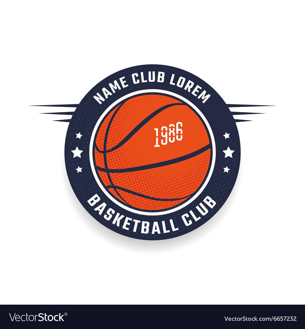 Basketball club logo.