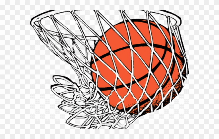 Jpg Royalty Free Stock Basketball Hoop Swoosh Clipart.