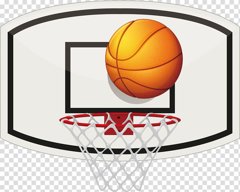 Basketball hoop illustration, Basketball Backboard.