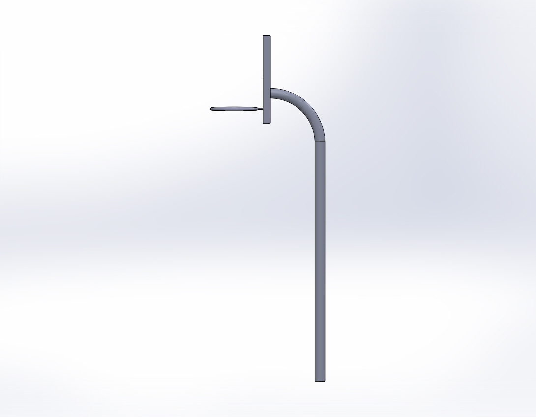 Basketball Hoop Side View Clipart.