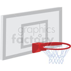 basketball hoop vector clipart . Royalty.