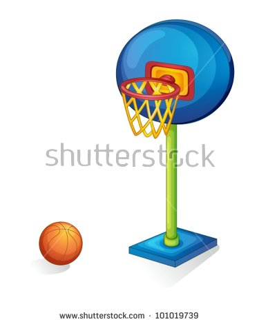 Basketball Cartoon Stock Images, Royalty.
