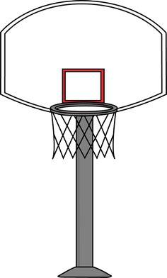 Basketball Clip Art Black And White cakepins.com.