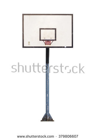 Basketball Hoop Isolated Stock Images, Royalty.