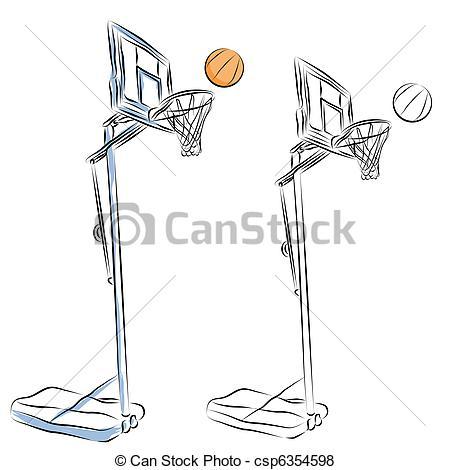 Basketball hoop Stock Illustration Images. 5,167 Basketball hoop.