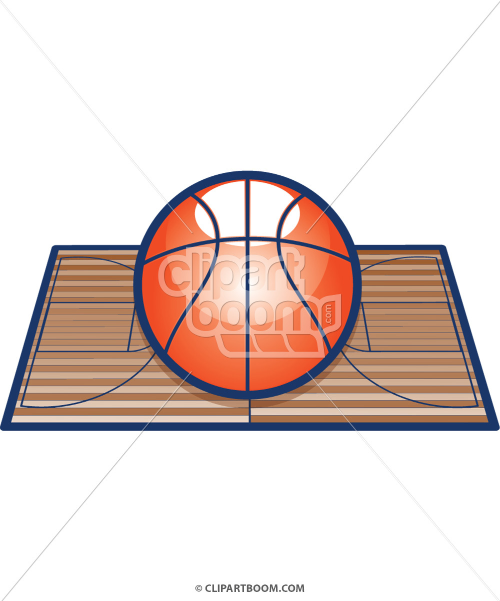 Vector Basketball Clip Art for T.