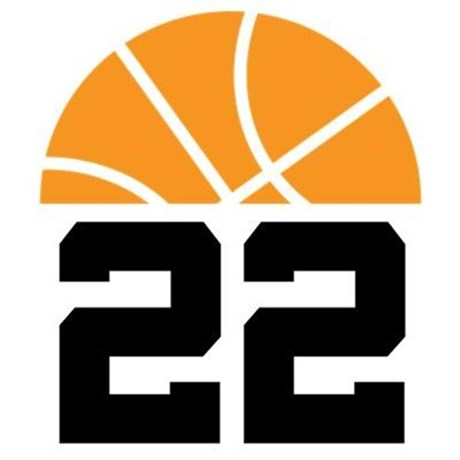 Basketball Number 22 Player Gift Pillow Case by milestonesbasketball.