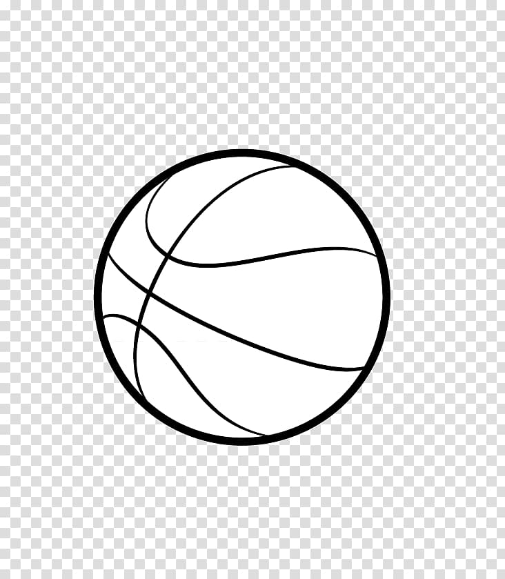 Outline of basketball Sport , basketball transparent background PNG.