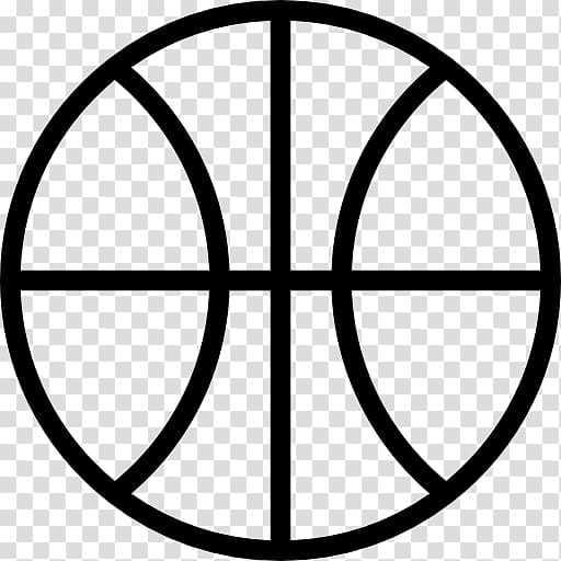 Outline of basketball Flat design , basketball transparent.