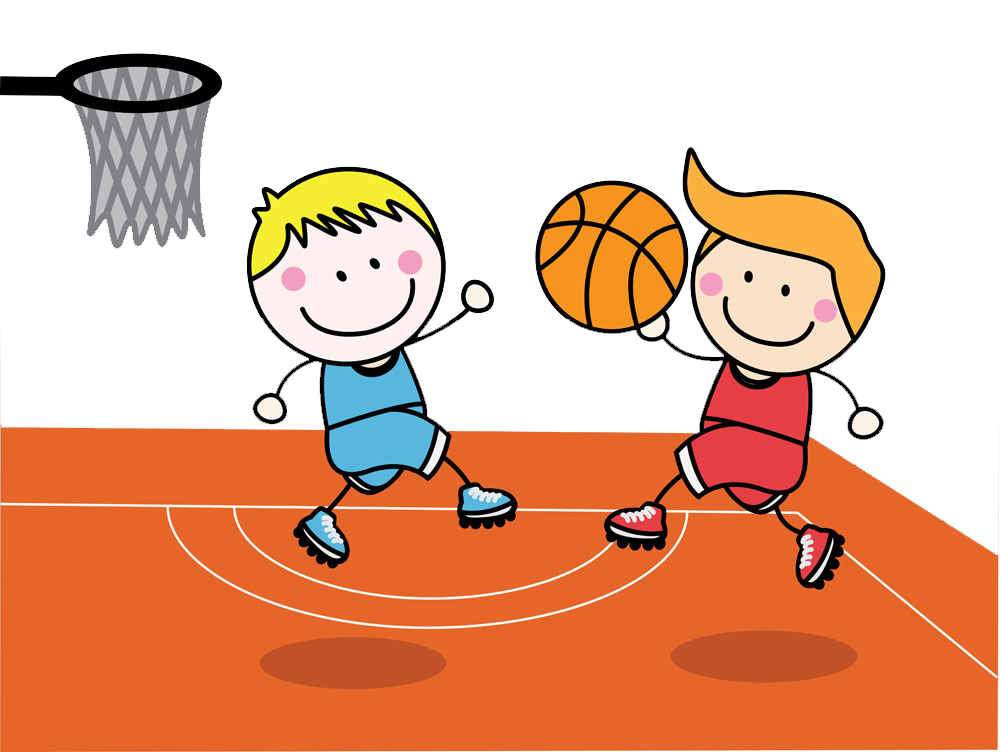 Boys with basketball vector royalty free stock png files, Free CLip.