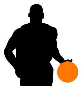 Basketball Player Clipart.