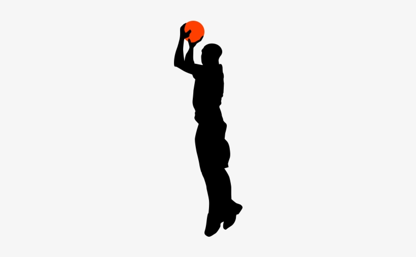 Vector Free Library Girl Basketball Player Clipart.