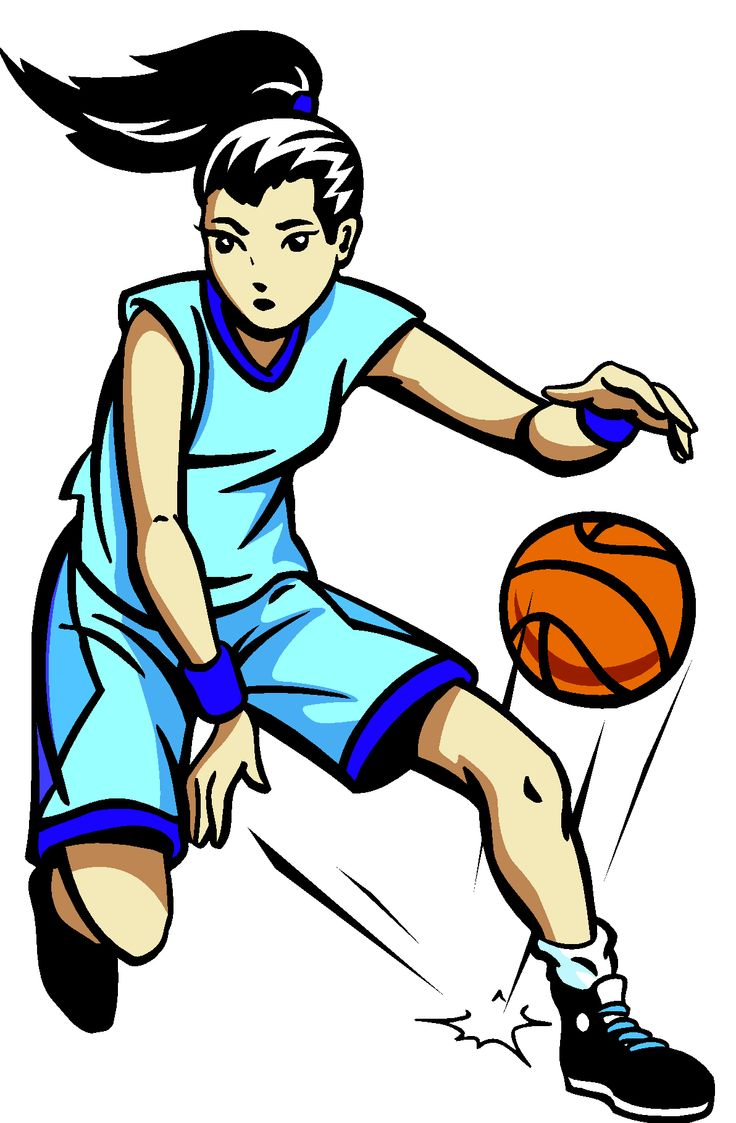 Basketball players clipart 3 » Clipart Station.