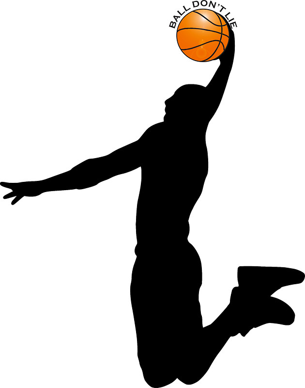 Basketball player dunking clipart 5 » Clipart Station.