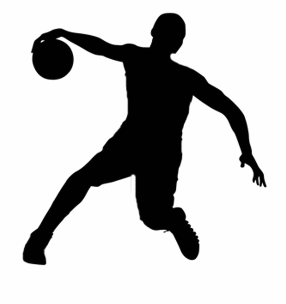 Basketball Vector Silhouette.