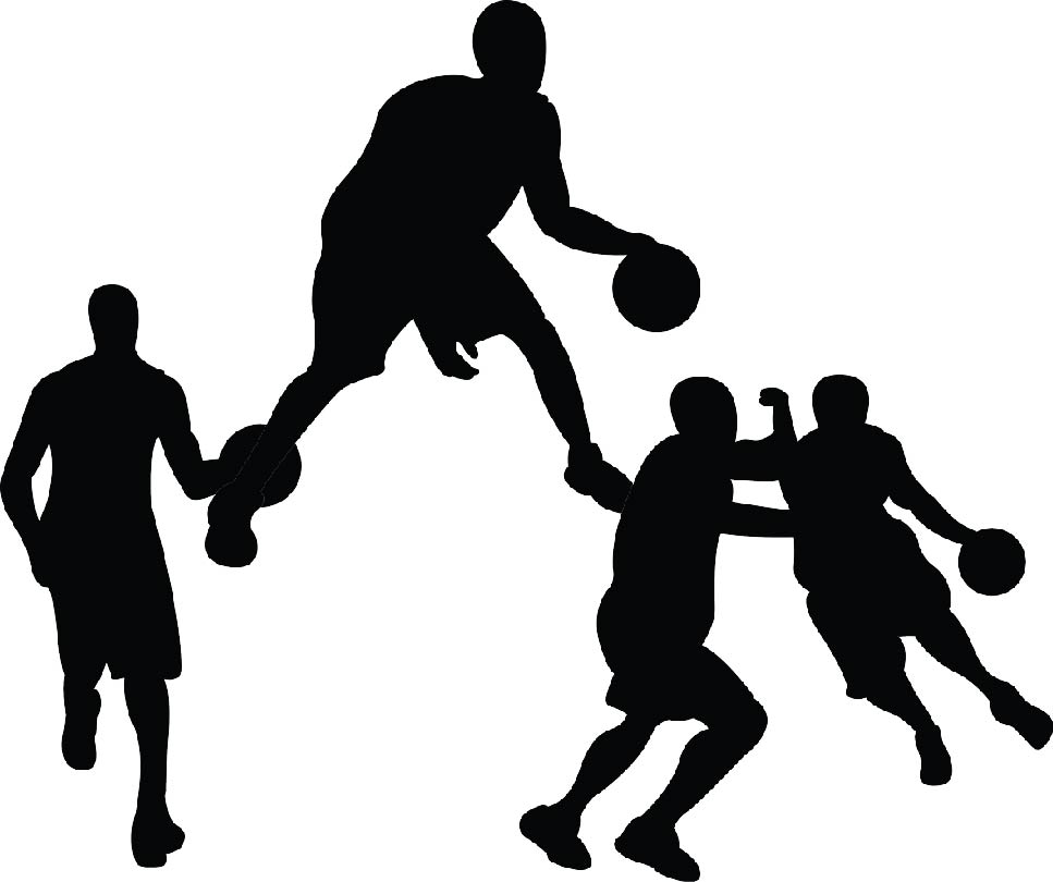 Basketball Player Silhouette Png (111+ images in Collection) Page 2.