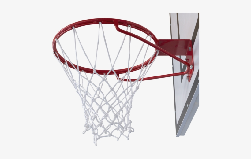 Outdoor Basketball Ring With Net.