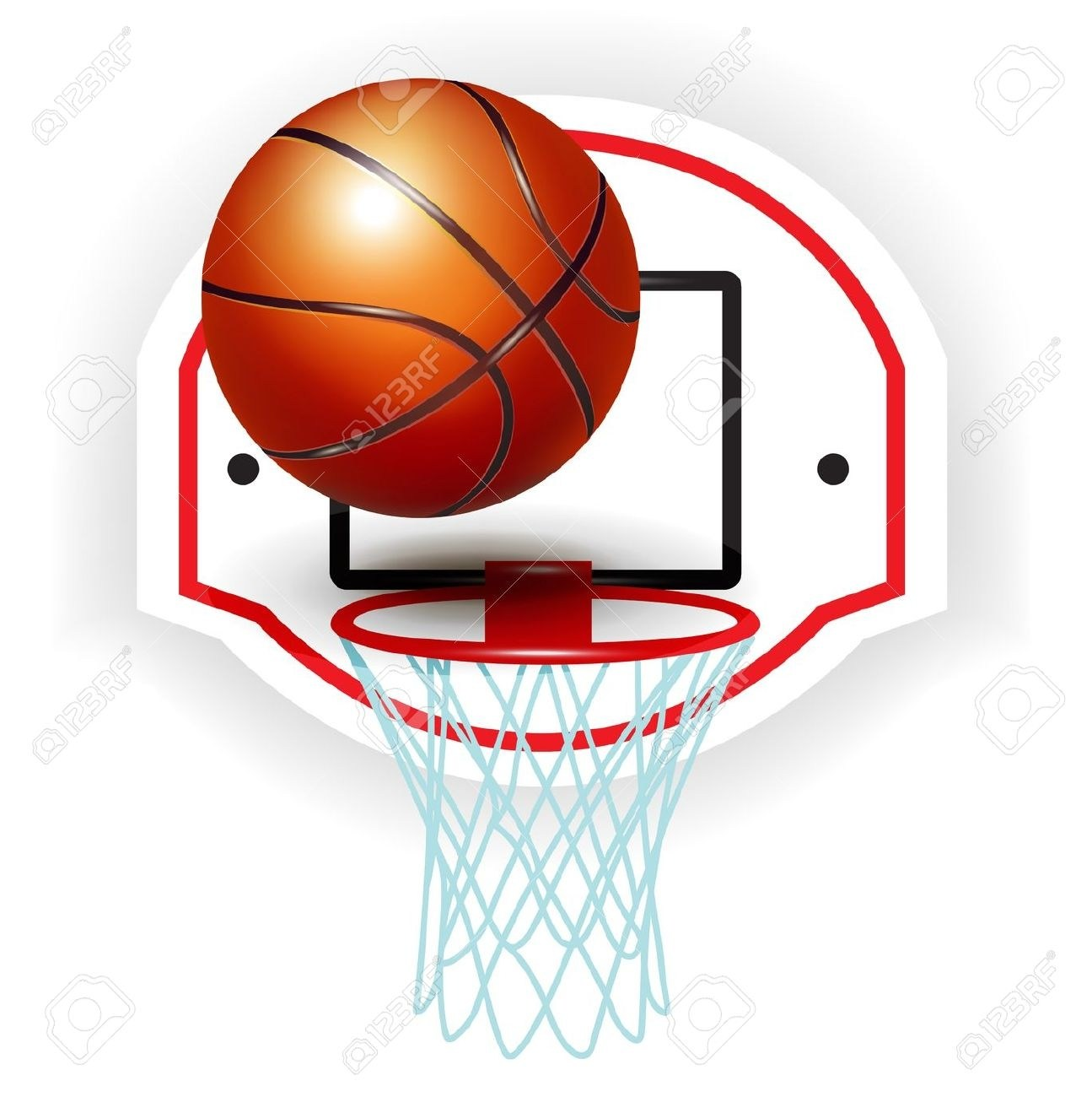 Basketball ring clipart png 4 » Clipart Portal.