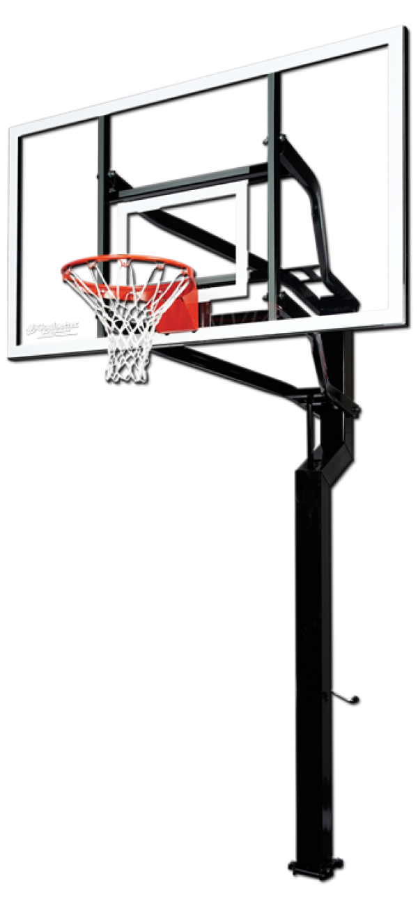 Download Free png Basketball Hoop Side View PNG.