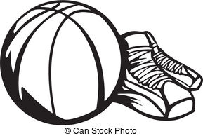 Basketball shoes clipart 4 » Clipart Station.