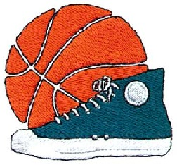 Free Basketball Shoes Clipart.