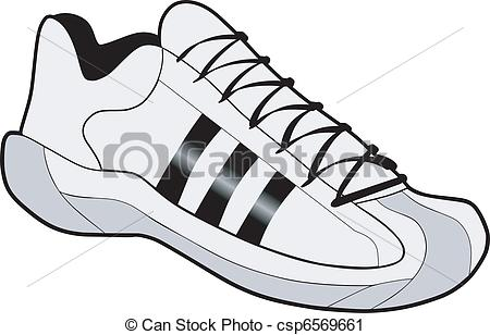 Basketball shoes Vector Clipart EPS Images. 698 Basketball shoes.