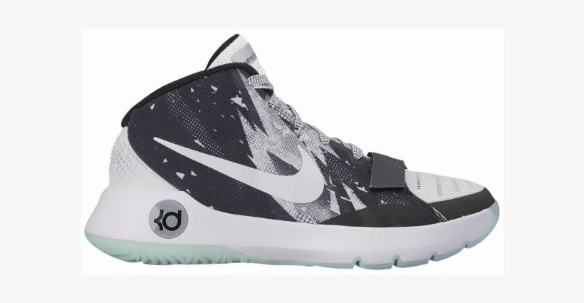 Nike Kd Trey 5 Iii Prm Men\'s White Basketball Shoes.