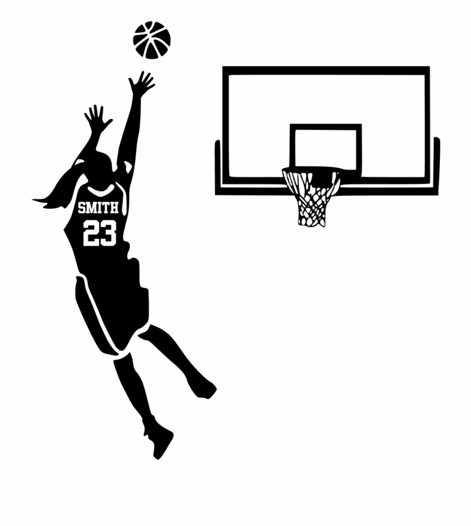 Silhouette Of Basketball Player Shooting , Png Download.
