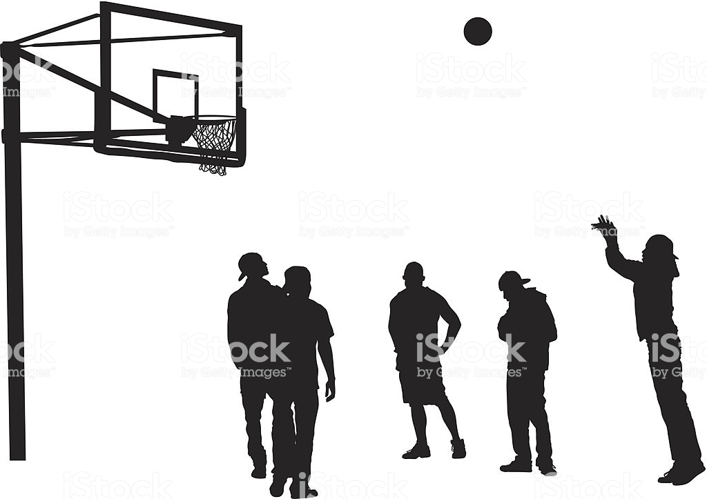 Best Basketball Shot Illustrations, Royalty.