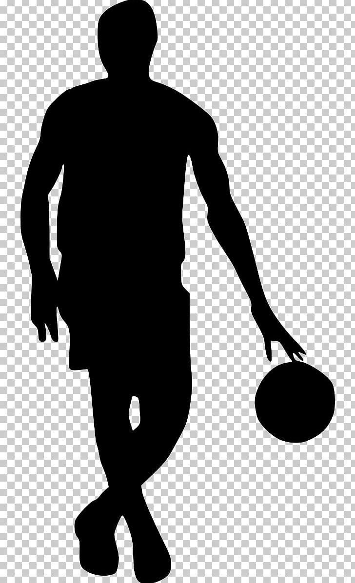 Basketball Silhouette PNG, Clipart, Arm, Ball, Basketball.