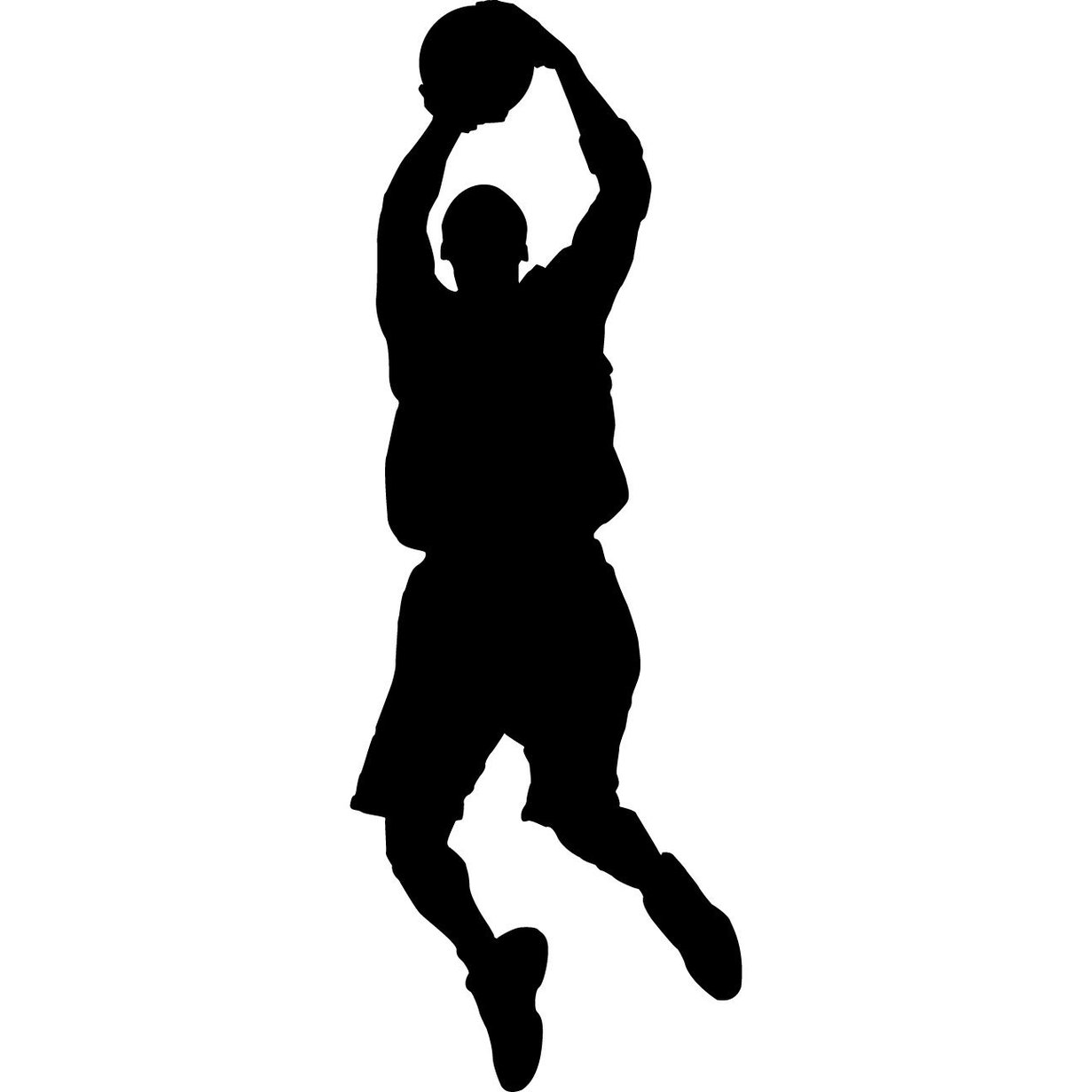 Free Silhouette Basketball Cliparts, Download Free Clip Art, Free.