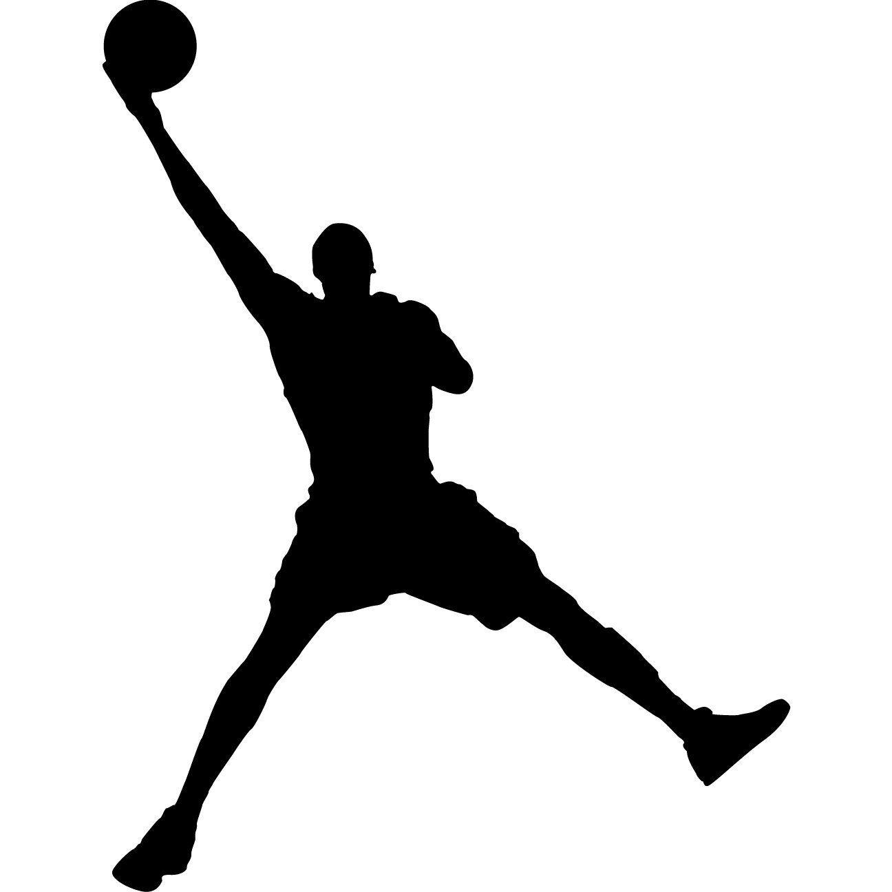 basketball silhouette clip art jordan.