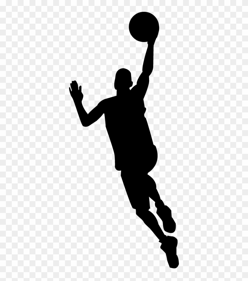 Basketball Player Silhouette Png.