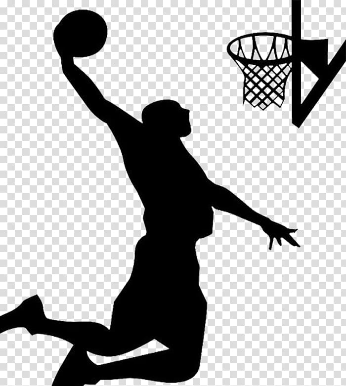 Wall decal Basketball Sport Slam dunk Layup, dunk.