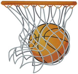 Basketball hoop clipart free.