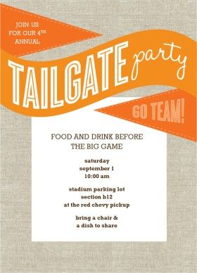 17 Best images about Tailgating Party on Pinterest.