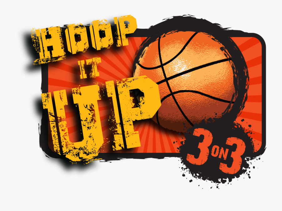Transparent 3 On 3 Basketball Clipart.