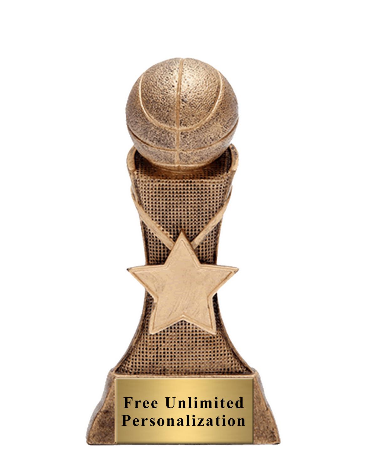 Triumph Star Basketball Trophy.