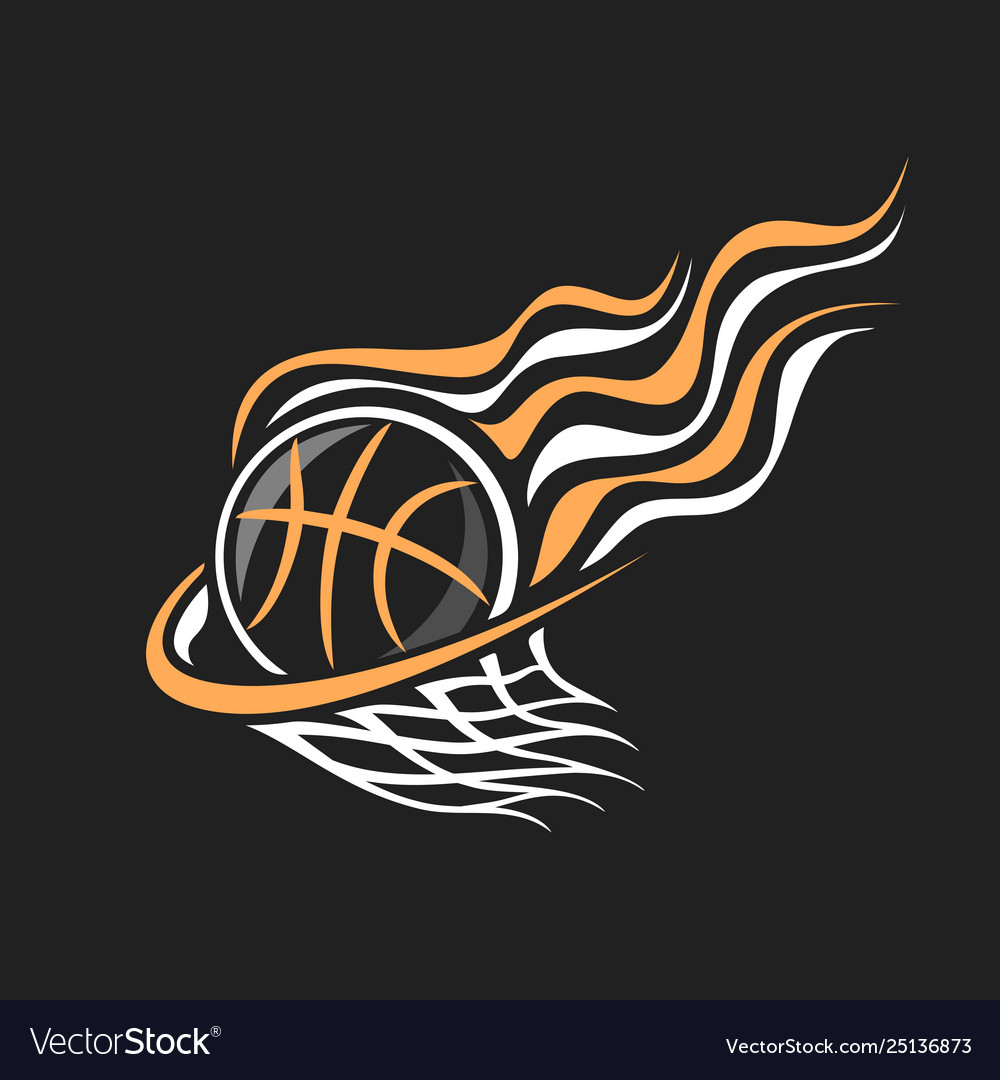 Logo for basketball.