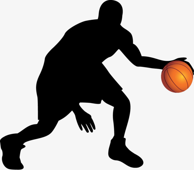 Basketball Png Silhouette & Free Basketball Silhouette.png.
