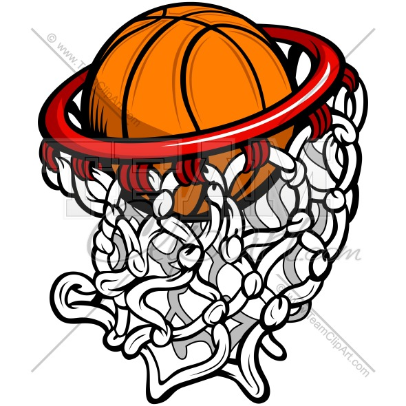 Basketball Hoop Clipart Image. Easy to Edit Vector Format..