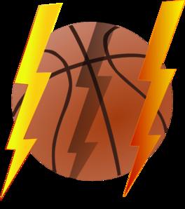 Lightning Bolt Basketball Clip Art at Clker.com.