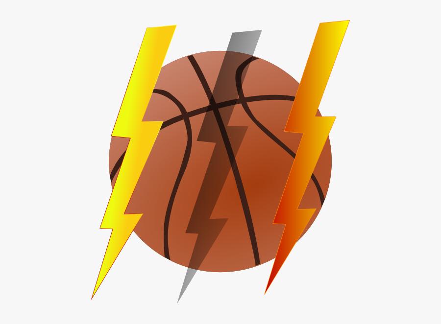 Lightning Bolt Basketball Clip Art At Clker.