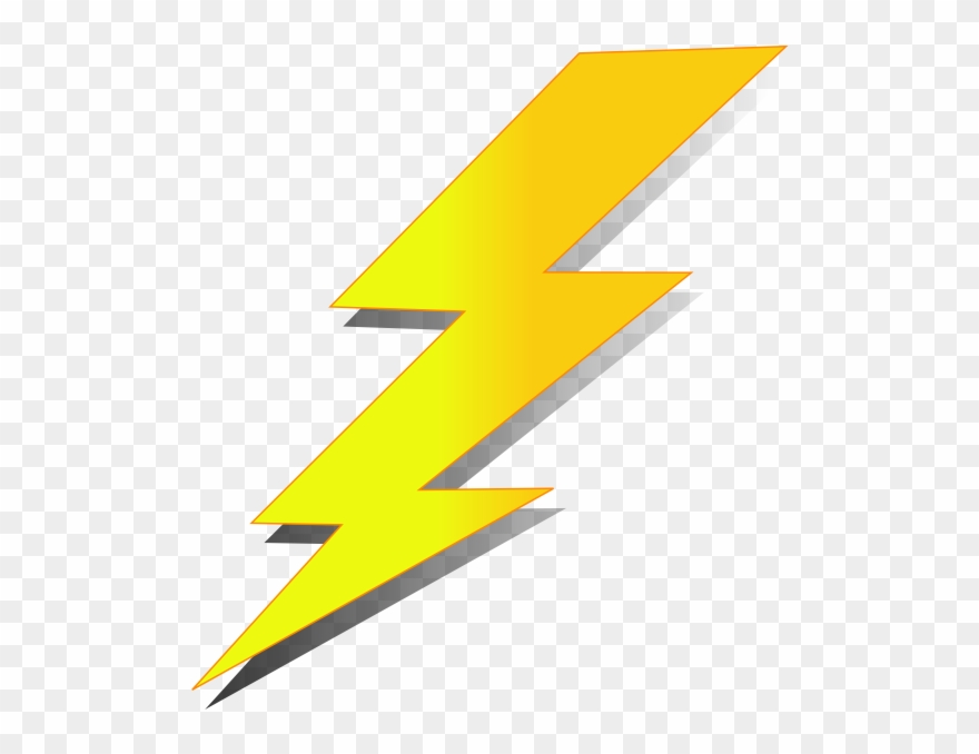 Thunder Bolt Clip Art.