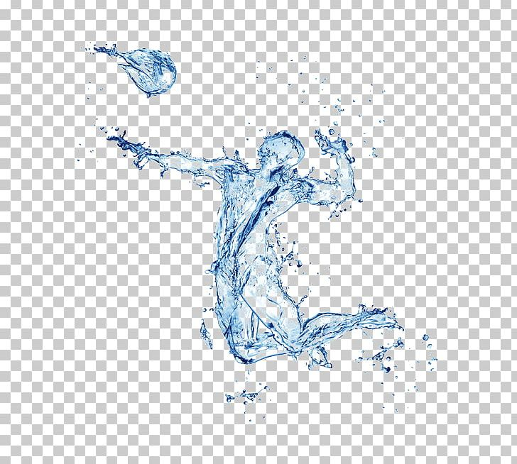 Water Graphic Design Drop PNG, Clipart, Area, Art.
