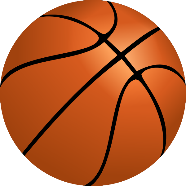 Clip art of basketball pictures.