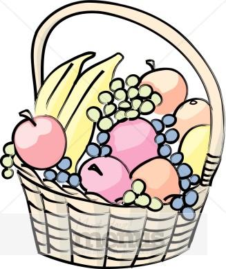 Clip Art Gift Baskets Clipart.